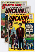 Golden Age (1938-1955):Horror, Uncanny Tales #29-32 and 51 Group (Atlas, 1955-57) Condition:Average VG+.... (Total: 5 Comic Books)
