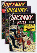 Golden Age (1938-1955):Horror, Uncanny Tales Group (Atlas, 1953-55) Condition: Average VG....(Total: 7 Comic Books)