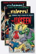 Golden Age (1938-1955):Horror, The Unseen #11, 12, and 15 Group (Standard, 1954).... (Total: 5Comic Books)