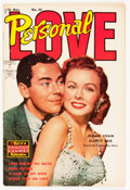 Golden Age (1938-1955):Romance, Personal Love #24 (Famous Funnies, 1953) Condition: Qualified FN/VFCream to off-white pages....