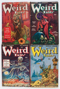 Pulps:Horror, Weird Tales Group (Popular Fiction, 1947-49) Condition: AverageVG.... (Total: 5 Items)