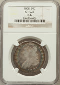 Bust Half Dollars, 1808 50C Good 6 NGC. O-102a. NGC Census: (9/465). PCGS Population(4/623). Mintage: 1,368,600. Numismedia Wsl. Price for pr...