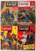 Pulps:Western, Lariat Story Magazine Group (Fiction House, 1947-48) Condition:Average VG-.... (Total: 5 Items)
