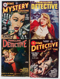 Pulps:Detective, Assorted Detective Pulps Group (Various, 1934-51) Condition: Average VG.... (Total: 21 Items)