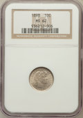 Barber Dimes: , 1898 10C MS62 NGC. NGC Census: (64/298). PCGS Population (79/309).Mintage: 16,320,735. Numismedia Wsl. Price for problem f...