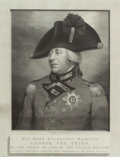 Prints, WILLIAM SKELTON (British, 1763-1848). His Most Excellent Majesty George the Third, October 25, 1810. Engraving. 29 x 23-...