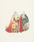 Fine Art - Work on Paper:Print, JAMES STEPHANOFF (British, 1778-1874). The Lord High Chancellor of Great Britain Bearing the Purse, July 19, 1821, 1824...