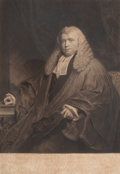 Prints, WILLIAM OWEN (British, 1769-1825). Sir Nicholl, Dean of the Arches and Judge of the Prerogatice Court, Canterbury, 1819...
