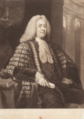 SIR JOSHUA REYNOLDS (British, 1723-1792) The Honorable Anthony Malone, Chancellor of His Majesty's Court of Exc