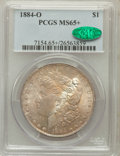Morgan Dollars, 1884-O $1 MS65+ PCGS. CAC. PCGS Population (12885/1283). NGCCensus: (17499/1940). Mintage: 9,730,000. Numismedia Wsl. Pric...