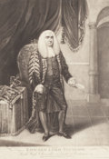 Fine Art - Work on Paper:Print, ISAAC CRUIKSHANK (British, 1756-1811). Edward Lord Thurlow, Lord High Chancellor of Great Britain, February 20, 1790. Me...