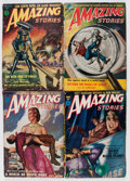 Pulps:Science Fiction, Amazing Stories Group (Ziff-Davis, 1947-53) Condition: AverageVG-.... (Total: 20 Comic Books)
