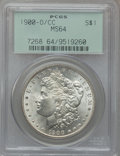 Morgan Dollars: , 1900-O/CC $1 MS64 PCGS. PCGS Population (1815/786). NGC Census:(799/188). Numismedia Wsl. Price for problem free NGC/PCGS...