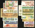 World Currency: , Around the World.. ... (Total: 38 notes)