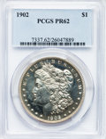 Proof Morgan Dollars, 1902 $1 PR62 PCGS....