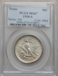 Commemorative Silver, 1938-S 50C Texas MS67 PCGS....