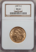 Liberty Eagles: , 1882 $10 MS62 NGC. NGC Census: (3856/804). PCGS Population(1973/380). Mintage: 2,324,480. Numismedia Wsl. Price for proble...