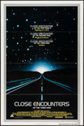 """Movie Posters:Science Fiction, Close Encounters of the Third Kind (Columbia, 1977). One Sheet (27""""X 41""""). Science Fiction.. ..."""