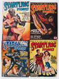 Pulps:Science Fiction, Startling Stories Captain Future Group (Standard, 1945-51)Condition: Average VG+.... (Total: 9 Items)