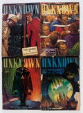 Pulps:Horror, Unknown/Unknown Worlds Group (Street & Smith, 1939-43)Condition: Average VG-.... (Total: 11 Comic Books)