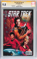 Modern Age (1980-Present):Science Fiction, Star Trek: Year Four #6 Signed by William Shatner (IDW Publishing,2007) CGC Signature Series NM/MT 9.8 White pages....