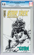 Modern Age (1980-Present):Science Fiction, Star Trek: Alien Spotlight: The Gorn #nn Sketch Cover (IDWPublishing, 2007) CGC NM/MT 9.8 White pages....
