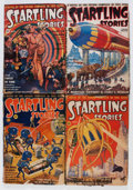 Pulps:Science Fiction, Startling Stories Group (Standard, 19439-44) Condition: AverageVG-.... (Total: 19 Items)