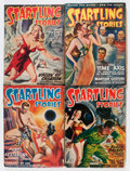 Pulps:Science Fiction, Startling Stories L. Ron Hubbard Group (Standard, 1948-49)Condition: Average VG+.... (Total: 7 Items)