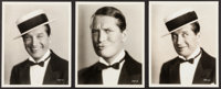 "Maurice Chevalier in Innocents of Paris (Paramount, 1929). Portrait and Scene Photos (8) (8"" X 10""). Musical..."