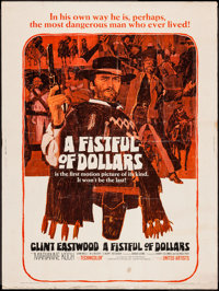 """A Fistful of Dollars (United Artists, 1967). Poster (30"""" X 40""""). Western"""