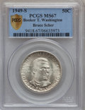 Commemorative Silver, 1949-S 50C Booker T. Washington MS67 PCGS Secure....