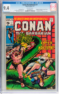 Bronze Age (1970-1979):Adventure, Conan the Barbarian #7 (Marvel, 1971) CGC NM 9.4 Off-white pages....