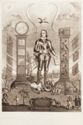 Prints, C. TURNER (British, 1769-1830). Oliver Cromwell, Lord Protector of England, Scotland, France, and Ireland, 1816. Etching...