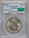 Commemorative Silver: , 1935/34 50C Boone MS65 PCGS. CAC. PCGS Population (660/268). NGCCensus: (532/293). Mintage: 10,008. Numismedia Wsl. Price ...