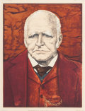 Fine Art - Work on Paper:Print, EDMOND XAVIER KAPP (British, 1890-1978). The Right Honorable Viscount Finlay of Nairn, G.C.M.G, P.C., March 21, 1925. Of...