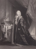 Fine Art - Work on Paper:Print, LORD CHANCELLOR COTTENHAM . 18th century. Engraving. 32 x 24 inches (81.3 x 61.0 cm). The Elton M. Hyder, Jr. Charitable ...