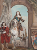Prints, PAIR OF ENGLISH PRINTS OF CHARLES I. 18th century. Engraving, lithograph. 21-1/2 x 16-1/2 inches (54.6 x 41.9 cm) (largest)... (Total: 2 Items)