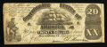 Confederate Notes:1861 Issues, T18 $20 1861 PF-27 Cr. UNL.. ...