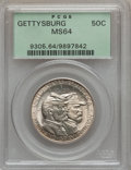 Commemorative Silver: , 1936 50C Gettysburg MS64 PCGS. PCGS Population (1966/2277). NGCCensus: (1187/1610). Mintage: 26,928. Numismedia Wsl. Price...