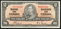 Canadian Currency: , BC-22c $2 1937. . ...