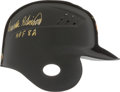Baseball Collectibles:Others, Frank Robinson Signed Baltimore Orioles Authentic Helmet. ...