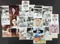 Autographs:Photos, Brooklyn Dodgers Greats Signed Photographs Lot Of 22. ...