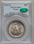 Commemorative Silver: , 1937-D 50C Texas MS67 PCGS. CAC. PCGS Population (123/2). NGCCensus: (93/3). Mintage: 6,605. Numismedia Wsl. Price for pro...