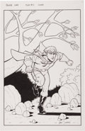 Original Comic Art:Covers, Gary Shipman Pakkin's Land #0 Cover Original Art (Caliber,1997)....