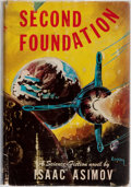 Books:Science Fiction & Fantasy, Isaac Asimov. SIGNED. Second Foundation. Gnome, 1953. Firstedition, first printing. Currey binding (B). Signed by...