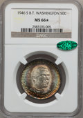 Commemorative Silver: , 1946-S 50C Booker T. Washington MS66 ★ NGC. CAC. NGC Census:(419/76). PCGS Population (421/6...