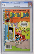 Modern Age (1980-Present):Humor, Richie Rich #206 File Copy (Harvey, 1981) CGC NM+ 9.6 Whitepages....