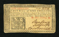 Colonial Notes:New Jersey, New Jersey March 25, 1776 1s Choice New. This is a very well margined and boldly signed example of this popular issue which ...