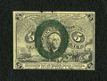 Fractional Currency:Second Issue, Fr. 1232 5c Second Issue Extremely Fine. A couple of small top edge notches are noticed along with oxidized bronze....