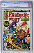Modern Age (1980-Present):Superhero, Fantastic Four #218 (Marvel, 1980) CGC NM/MT 9.8 White pages....